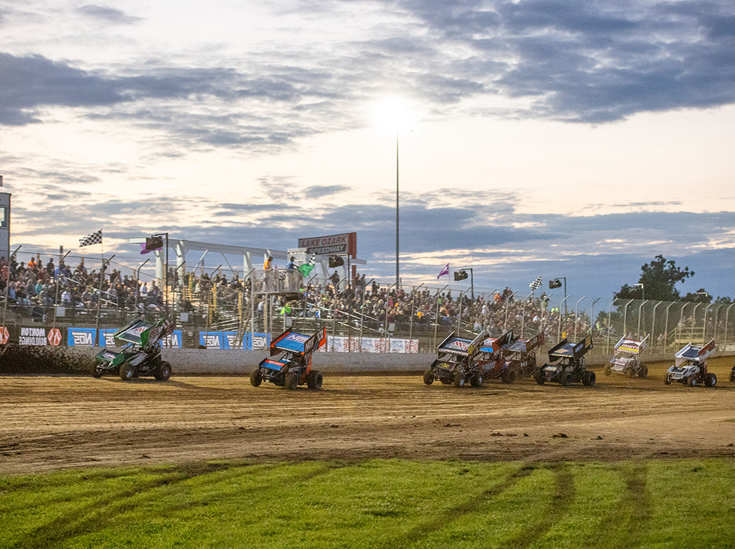 World of Outlaws Lake Ozark 2020 (Brad Plant Photo)