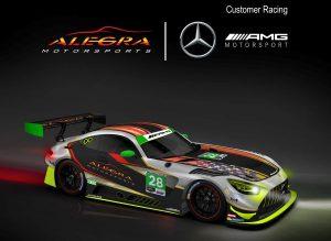 Alegra Motorsports has joined Mercedes-AMG Motorsport Customer Racing