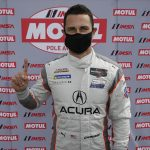 Dane Cameron earned another pole for Acura Team Penske Friday at Michelin Raceway Road Atlanta. (IMSA Photo)