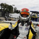 Antonio Garcia put Corvette Racing on the pole for the GT Le Mans portion of the Petit Le Mans. (IMSA Photo)
