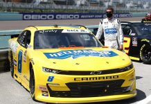 Dale Earnhardt Jr. will once again compete in one NASCAR Xfinity Series next season for JR Motorsports. (Chris Graythen/Getty Images Photo)