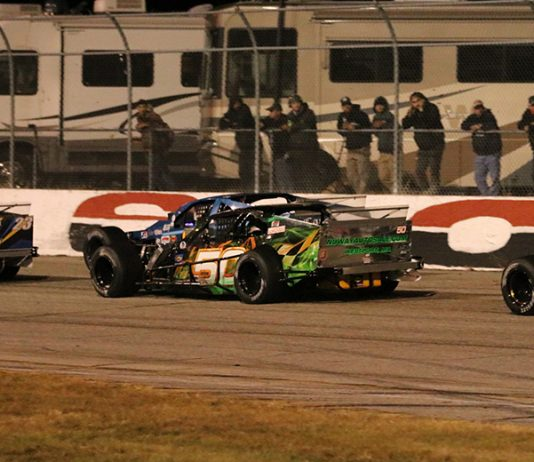 The Pro All Stars Series and American-Canadian Tour have partnered for the Thompson Outlaw Open Modified Series at Thompson Speedway Motorsports Park. (Matthew Wiernasz/WWLP22 News photo)