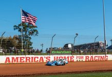More than 300 cars were on hand for the opening day of the World Short Track Championship on Friday at The Dirt Track at Charlotte. (James Brabson Photo)