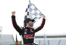 Burton Wins Martinsville