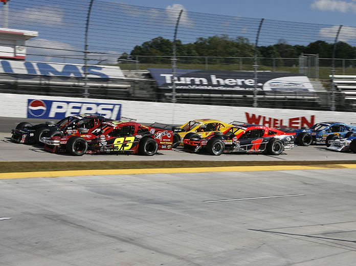 The NASCAR Whelen Modified Tour will return to Richmond Raceway and Martinsville Speedway in 2021. (Tom Whitmore/Getty Images Photo)