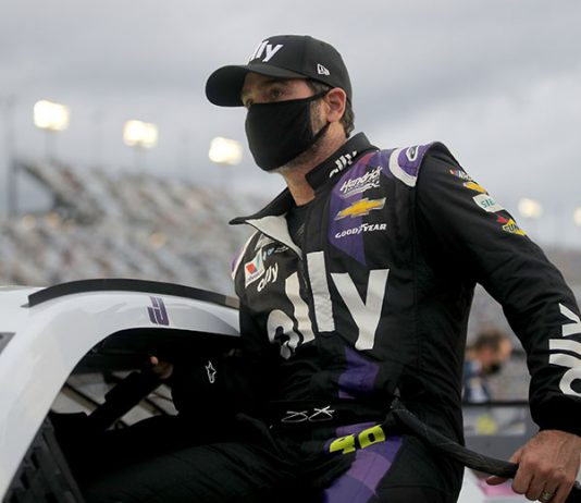 Jimmie Johnson is hoping to return to the Rolex 24 next season. (Chris Graythen/Getty Images Photo)