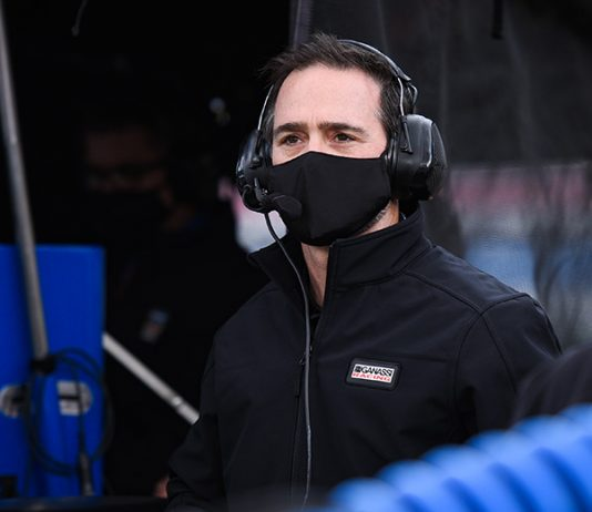 Jimmie Johnson continued his transition to the NTT IndyCar Series with a test Monday at Barber Motorsports Park. (IndyCar Photo)