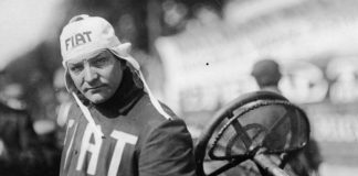 Ted Tetzlaff was a larger than life character in the early days of racing. (Bob Gates Photo Collection)