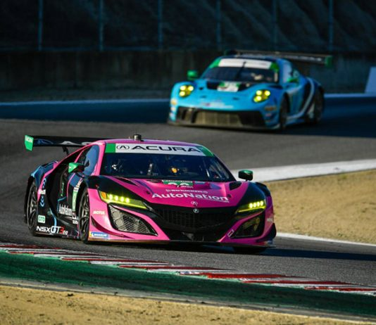 The No. 86 Meyer Shank Racing Acura squad is ready to tackle the Mobil 1 Twelve Hours of Sebring. (IMSA Photo)