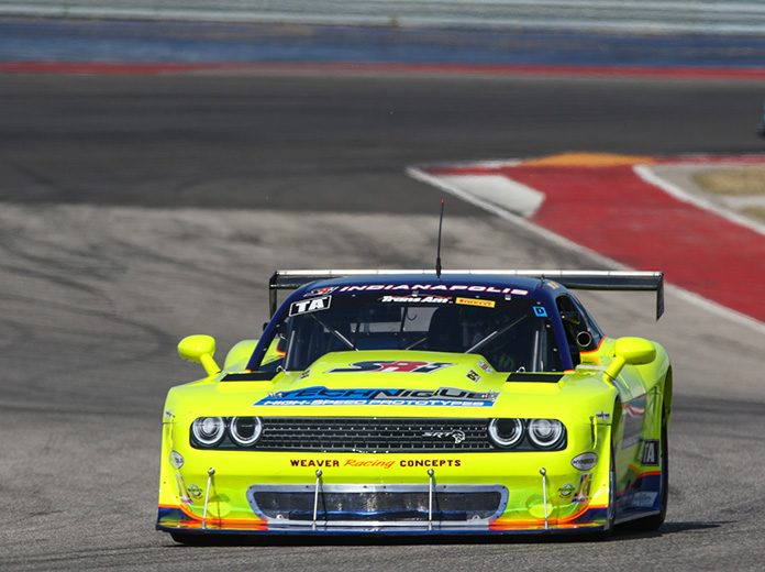 Boris Said won the pole for Sunday's Trans-Am Series event at Circuit of the Americas.