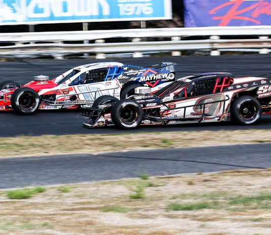 Three NASCAR Modified