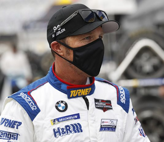 Bill Auberlen is sitting out the Mobil 1 Twelve Hours of Sebring after a possible COVID-19 exposure. (IMSA Photo)
