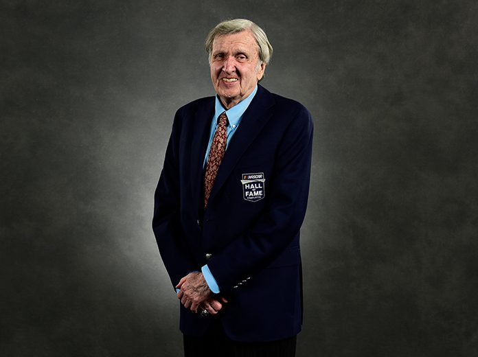 Ken Squier has been diagnosed with COVID-19. (NASCAR Photo)