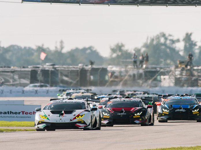The Lamborghini Super Trofeo North America season wrapped up Friday at Sebring Int'l Raceway. (IMSA Photo)
