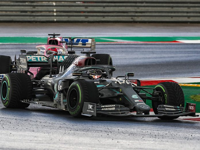 Lewis Hamilton went from sixth to first to win the Turkish Grand Prix. (LAT Images)