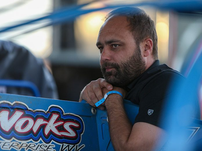 Donny Schatz has filed an entry to compete in the inaugural Wild Wing Shootout in January. (Adam Fenwick Photo)