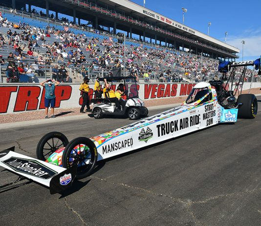 Strutmasters.com has extended its sponsorship support of Top Fuel pilot Justin Ashley.