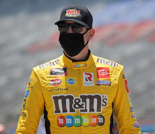 Kyle Busch will have a new crew chief during the 2021 NASCAR Cup Series season. (Chris Graythen/Getty Images Photo)