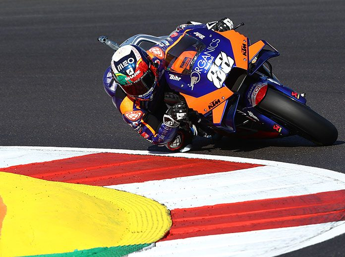 Miguel Oliveira won Sunday's MotoGP finale in Portugal. (Red Bull Photo)