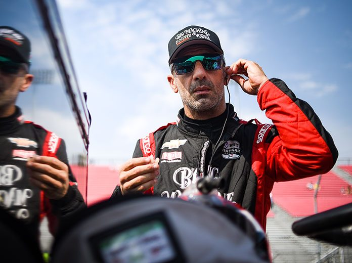 Tony Kanaan will compete in four NTT IndyCar Series events next year for Chip Ganassi Racing. (IndyCar Photo)