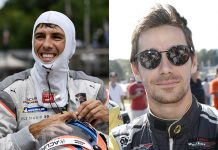 Ricky Taylor (left) and Filipe Albuquerque will co-drive the No. 10 Wayne Taylor Racing Acura ARX-05 full-time next year in the IMSA WeatherTech SportsCar Championship. (IMSA Photos)