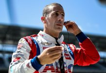 Tony Kanaan is returning for an unexpected opportunity to compete in four NTT IndyCar Series races next year for Chip Ganassi Racing. (IndyCar Photo)