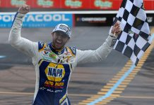 Chase Elliott will make his Chili Bowl debut in January. (NASCAR Photo0