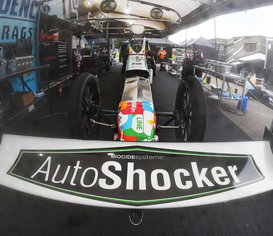 Justin Ashley will continue to carry support from Auto Shocker in 2021.