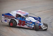 Robbie Johnston claimed the DIRTcar Big Block Modified Rookie of the Year Award.