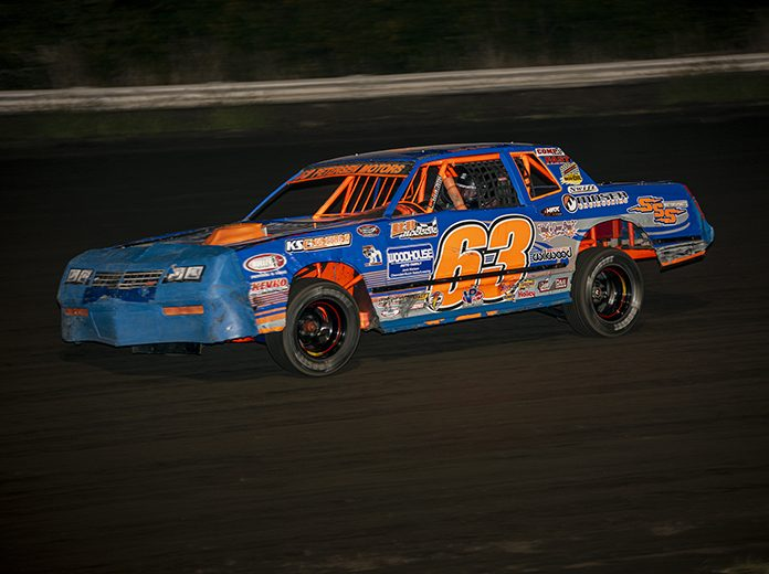 Mike Nichols scored an impressive four track championships this year in IMCA competition. (Jim Steffens Photo)
