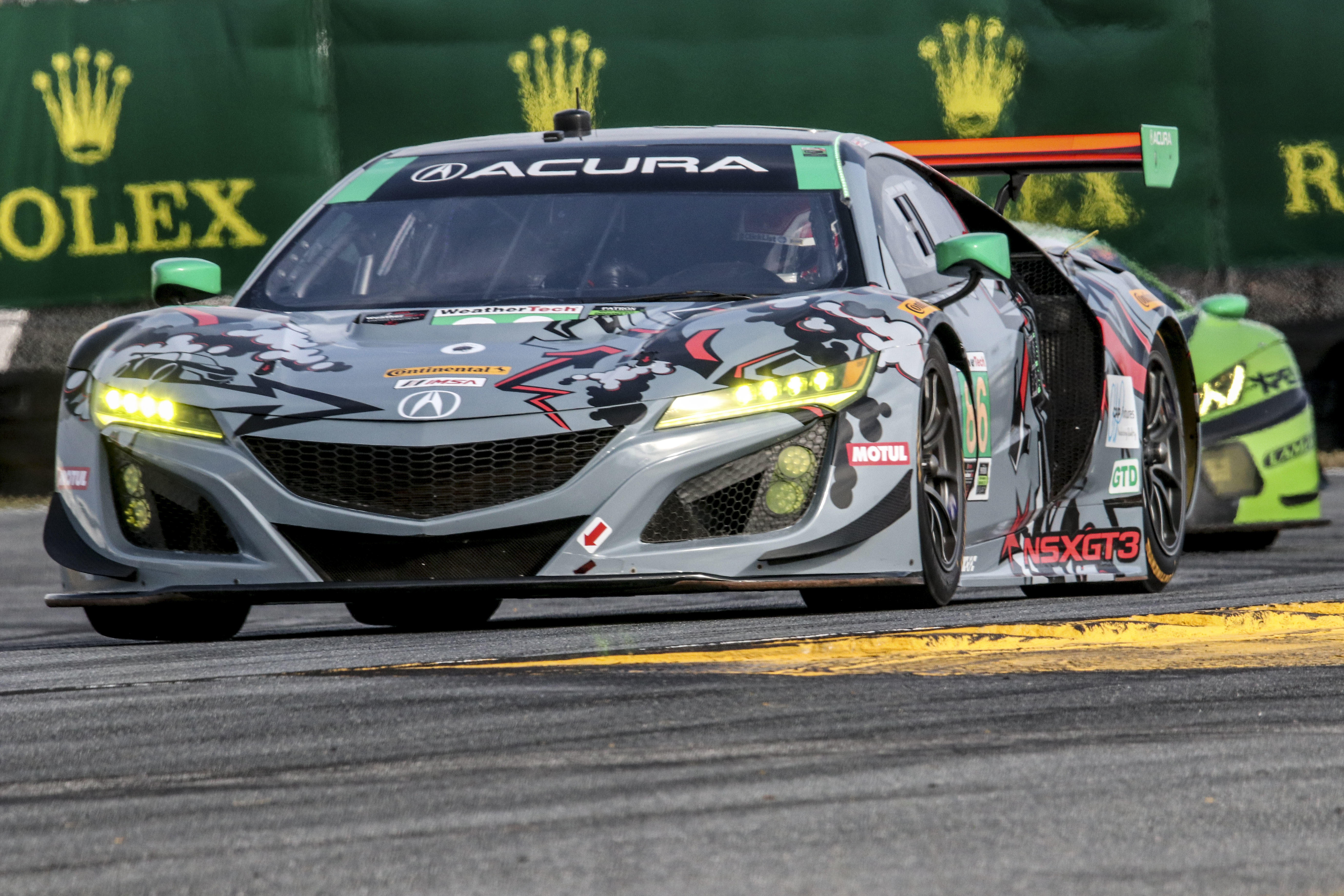 The 2018 season saw Meyer Shank Racing and the Acura NSX GT3 fighting for the GT Daytona title. (Brian Cleary Photo)
