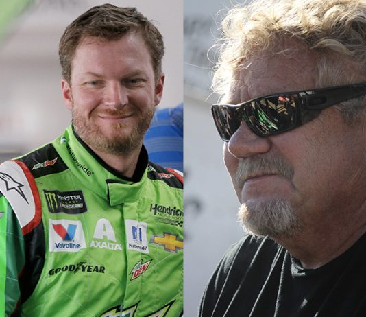 Dale Earnhardt Jr. (left) and Steve Kinser (right) will join the NMPA Hall of Fame as part of the class of 2021.