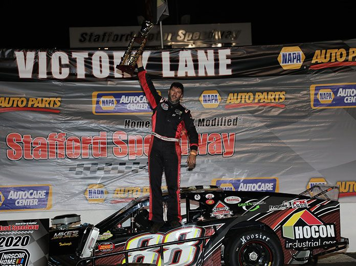Keith Rocco earned his fourth Stafford Motor Speedway SK Modified title in 2020.
