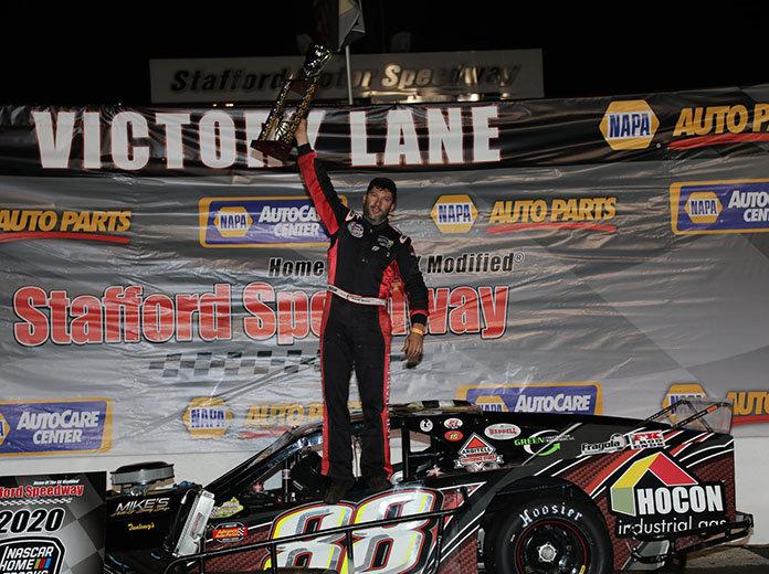 Rocco Reigns For 4th Stafford SK Modified Title