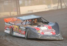 IMCA Sunoco Late Model National Champion Cory Dumpert. (Tom Macht Photo)