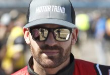 Corey LaJoie has landed a full season ride with Spire Motorsports next season. (HHP/Andrew Coppley Photo)
