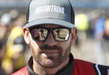 Corey LaJoie has landed a full season ride with Spire Motorsports next season. (HHP/Andrew Coppley Photo)