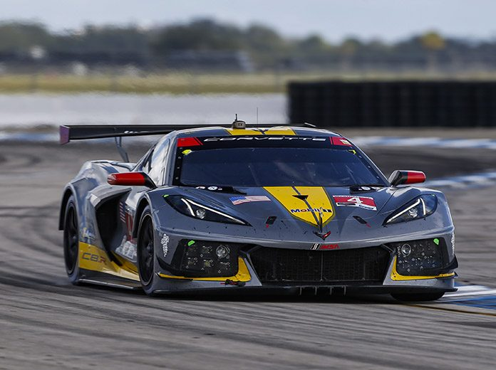 Nick Tandy and Alexander Sims have joined Corvette Racing and will be among the drivers piloting the No. 4 entry next year. (IMSA Photo)
