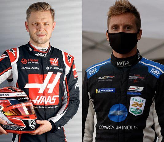 Kevin Magnussen (left) and Renger van der Zande (right) have joined Chip Ganassi Racing's reborn IMSA program.