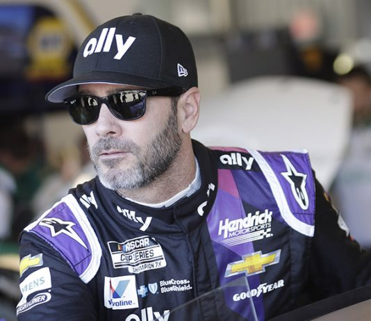 Jimmie Johnson will be part of an all-star driver roster for Action Express Racing during the Rolex 24. (HHP/Harold Hinson Photo)