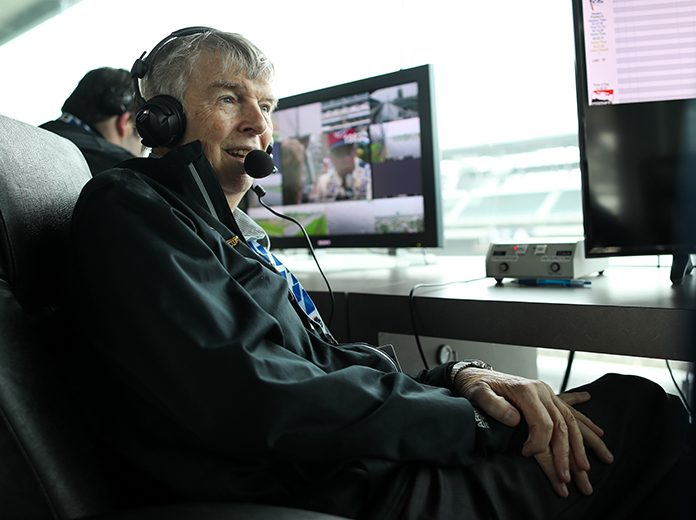 Donald Davidson is retiring as the historian at Indianapolis Motor Speedway on Dec. 31. (IndyCar Photo)