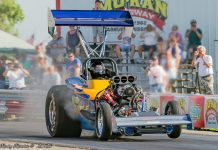 Don Schumacher Racing Performance Parts has partnered with the Funny Car Chaos and Outlaw Fuel Altered circuits.