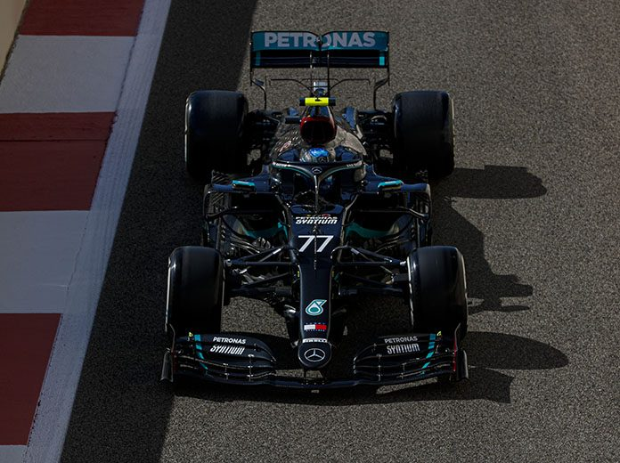 Valtteri Bottas was fastest in Formula One practice Friday in Abu Dhabi. (LAT Images Photo)