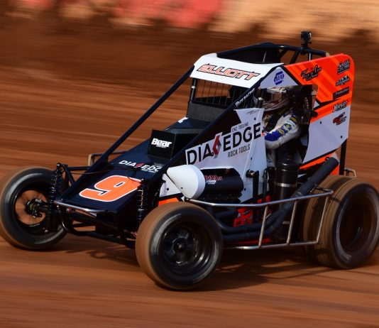 Elliott's Midget Debut