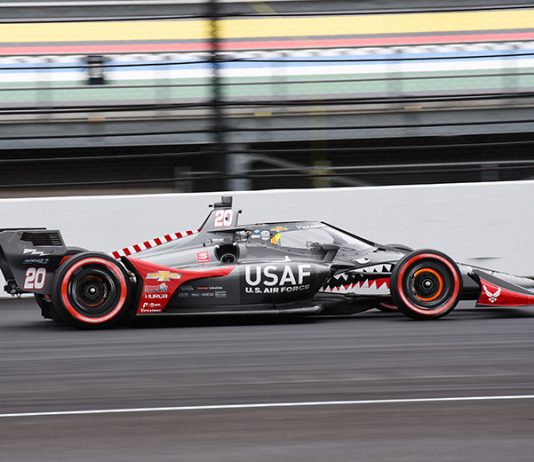 The U.S. Air Force and driver Conor Daly will return to Ed Carpenter Racing next season. (IndyCar Photo)