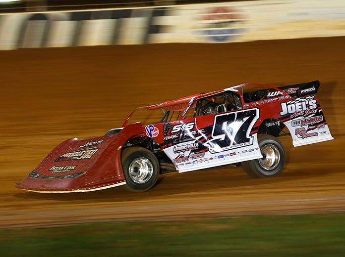 Cade Dillard will embark upon another season with the World of Outlaws Morton Buildings Late Model Series in 2021. (Adam Fenwick Photo)