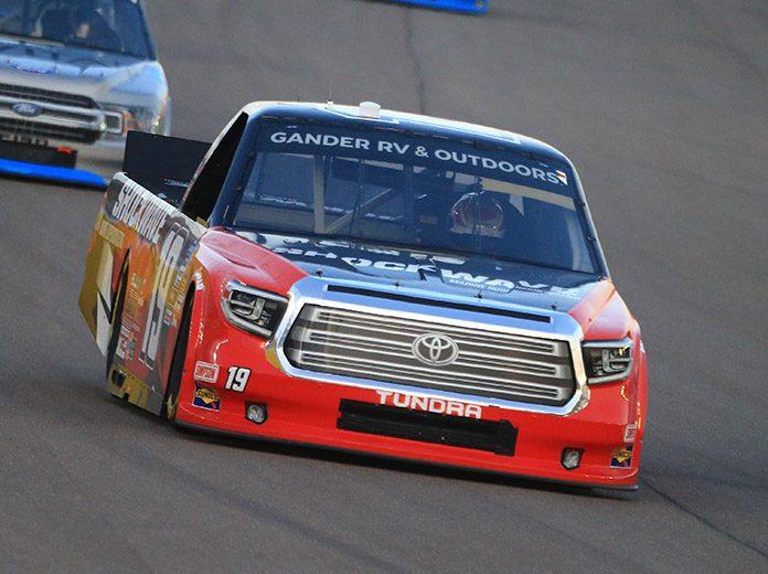 Derek Kraus will return to McAnally-Hilgemann Racing for his second NASCAR Camping World Truck Series season in 2021. (HHP/Jim Fluharty Photo)