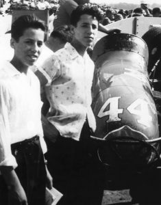 Mario and Aldo Andretti spent 1956 together in Reading, Pennsylvania (Andretti Autosport's Facebook page)