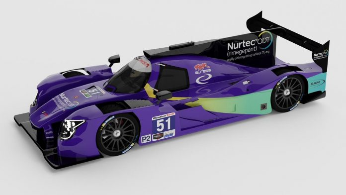 Nurtec ODT will sponsor the RWR Eurasia team during the Rolex 24.
