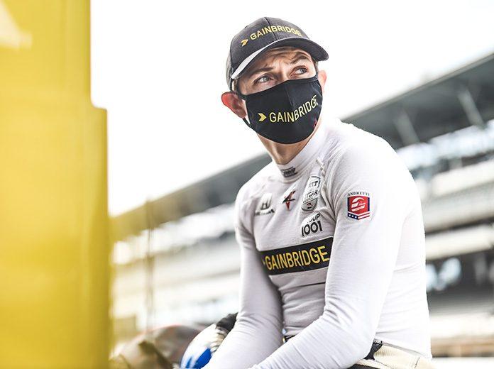 Zach Veach will partner with Frankie Montecalvo to drive the No. 12 Lexus in the IMSA WeatherTech SportsCar Championship for Vasser Sullivan Racing. (IndyCar Photo)